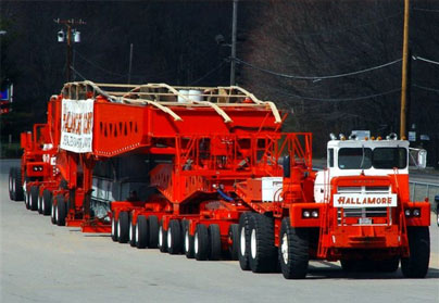 New England Crane Rental - Heavy Hauling