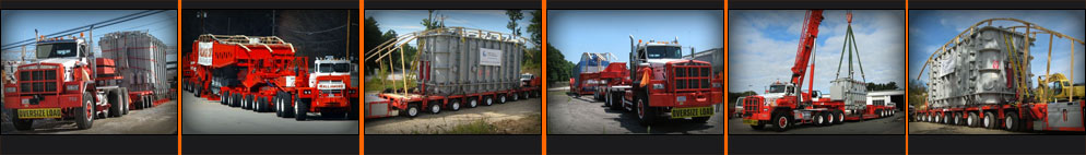 Heavy Hauling Photos - Hallamore Crane Rental